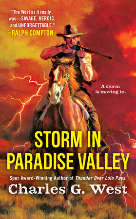 Storm in Paradise Valley by Charles G. West