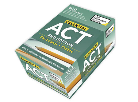 Essential ACT, 2nd Edition: Flashcards + Online by The Princeton Review