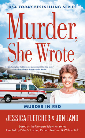 Murder, She Wrote: Murder in Red by Jon Land,Jessica Fletcher