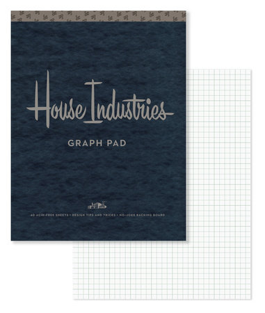 House Industries Graph Pad by House Industries