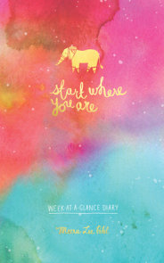 Start Where You Are Week-at-a-Glance Diary