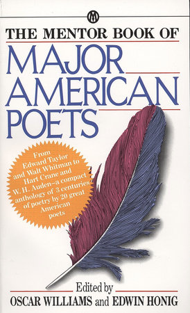 The Mentor Book of Major American Poets by Various