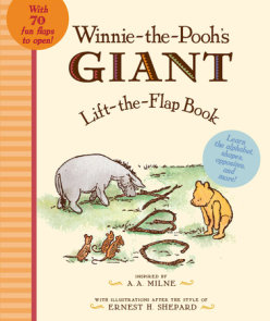Winnie the Pooh's Giant Lift the-Flap