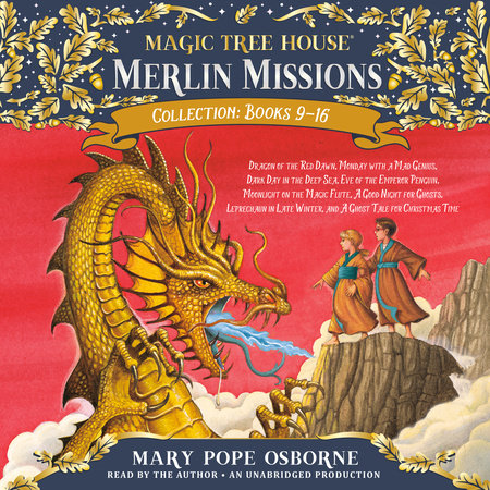 Merlin Missions Collection: Books 9-16 by Mary Pope Osborne