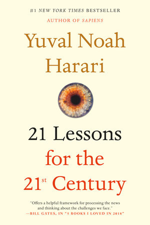21 Lessons for the 21st Century Book Cover Picture