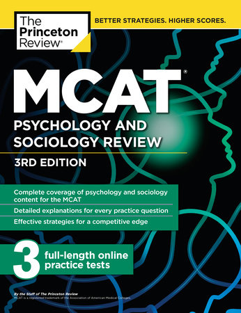 MCAT Psychology and Sociology Review, 3rd Edition
