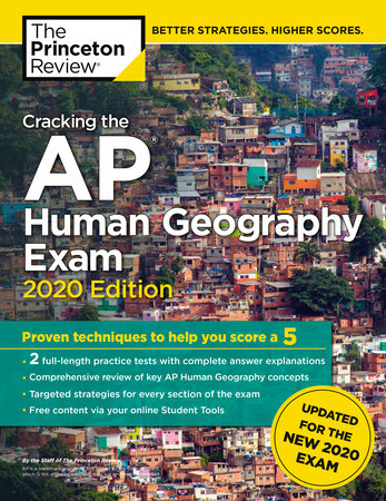 Cracking the AP Human Geography Exam, 2020 Edition by The Princeton Review