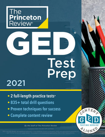 Princeton Review GED Test Prep, 2021 by The Princeton Review