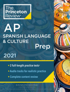 Princeton Review AP Spanish Language & Culture Prep, 2021