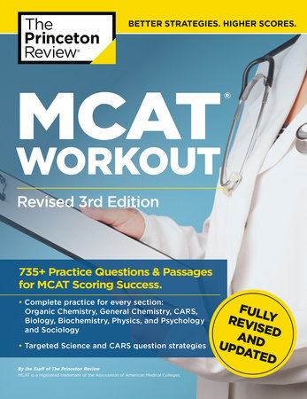 MCAT Workout, Revised 3rd Edition by The Princeton Review