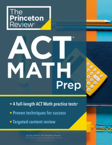 Princeton Review ACT Math Prep