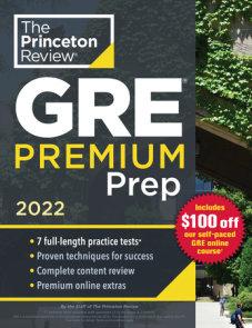 Princeton Review GRE Premium Prep, 2022