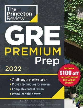 Princeton Academic Calendar Fall 2022.Princeton Review Gre Premium Prep 2022 By The Princeton Review 9780525570479 Penguinrandomhouse Com Books