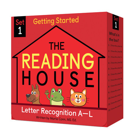 The Reading House Set 1: Letter Recognition A-L by The Reading House