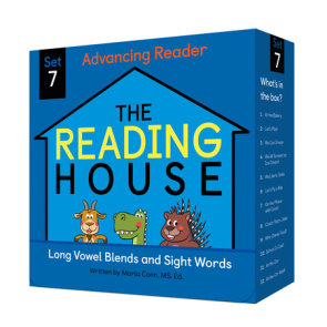 The Reading House Set 7: Long Vowel Blends and Sight Words