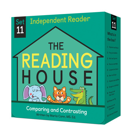 The Reading House Set 11: Comparing and Contrasting by Marla Conn