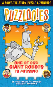 Puzzloonies! One of Our Giant Robots Is Missing