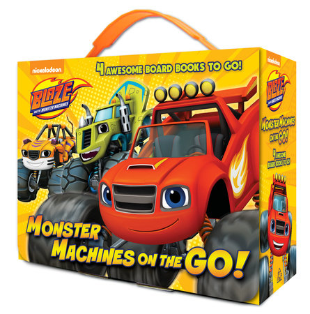 Monster Machines on the Go! (Blaze and the Monster Machines) by Random House