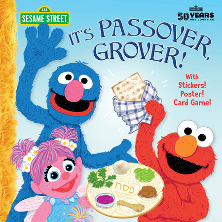 It's Passover, Grover! (Sesame Street) by Jodie Shepherd