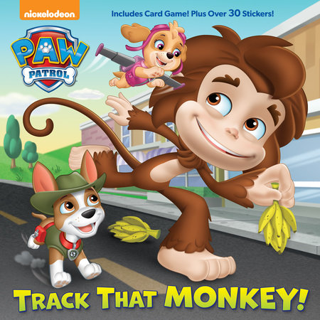 Track That Monkey! (PAW Patrol) by Casey Neumann