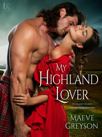 My Highland Lover by Maeve Greyson