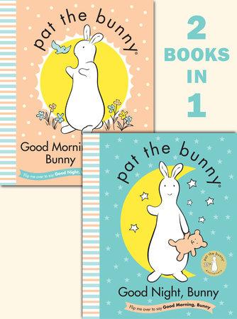 Good Night, Bunny/Good Morning, Bunny (Pat the Bunny) by Golden Books