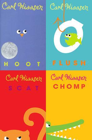 Carl Hiaasen 4-Book Collection by Carl Hiaasen