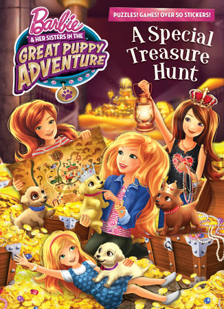 A Special Treasure Hunt (Barbie and Her Sisters in The Great Puppy Adventure) by Mary Man-Kong