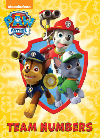 Team Numbers (Paw Patrol) by Random House