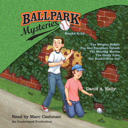 Ballpark Mysteries Collection: Books 6-10 by David A. Kelly