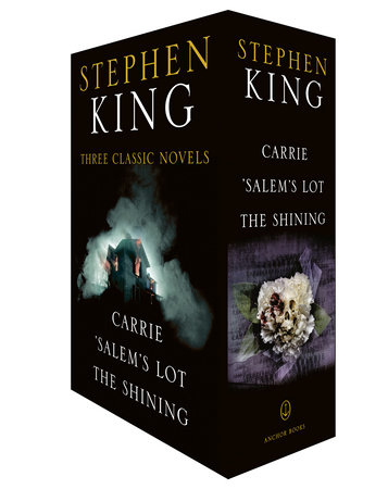 Stephen King Three Classic Novels Box Set: Carrie, 'Salem's Lot, The Shining