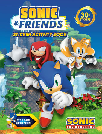 Sonic & Friends Sticker Activity Book by Penguin Young Readers Licenses