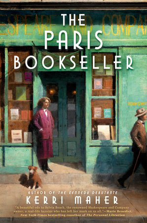 The Paris Bookseller by Kerri Maher