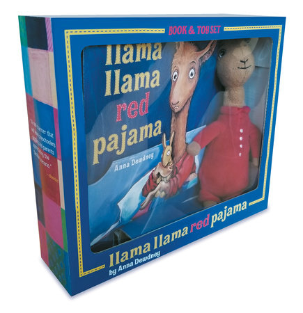Llama Llama Red Pajama Book and Plush by Anna Dewdney