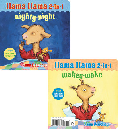 Llama Llama 2-in-1: Wakey-Wake/Nighty-Night by Anna Dewdney