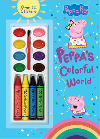 Peppa's Colorful World (Peppa Pig) by Golden Books