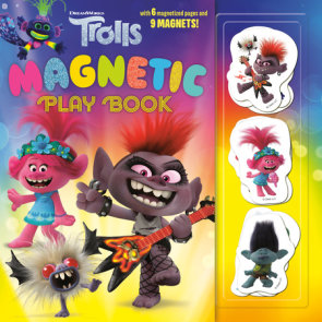 Trolls Magnetic Play Book (DreamWorks Trolls)