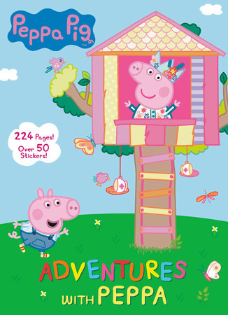 Adventures with Peppa (Peppa Pig) by Golden Books