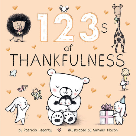 123s of Thankfulness by Patricia Hegarty