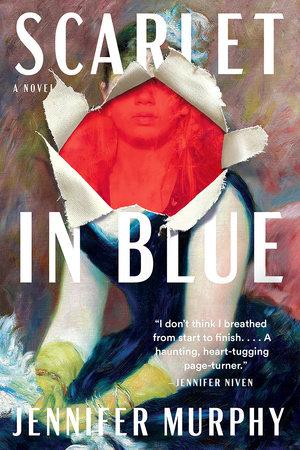Scarlet in Blue by Jennifer Murphy