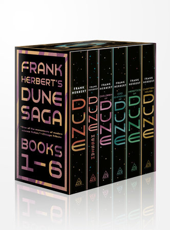 Frank Herbert's Dune Saga 6-Book Boxed Set by Frank Herbert