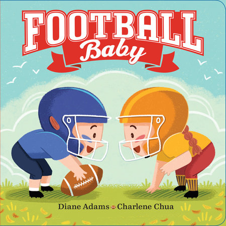 Football Baby by Diane Adams