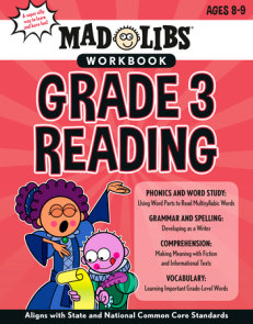 Mad Libs Workbook: Grade 3 Reading