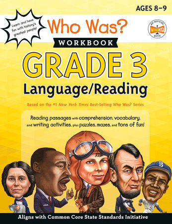 Who Was? Workbook: Grade 3 Language/Reading by Linda Ross and Who HQ