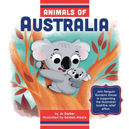 Animals of Australia by Jo Parker