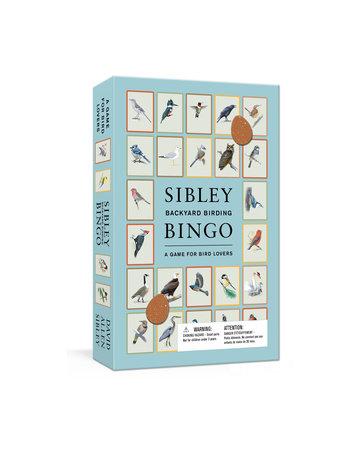 Sibley Backyard Birding Bingo by David Allen Sibley