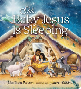 Shh... Baby Jesus Is Sleeping