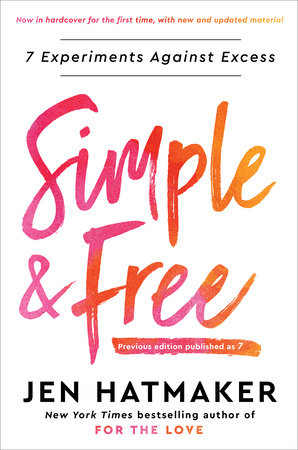 Simple and Free by Jen Hatmaker