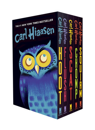 Hiaasen 5-Book Trade Paperback Box Set by Carl Hiaasen