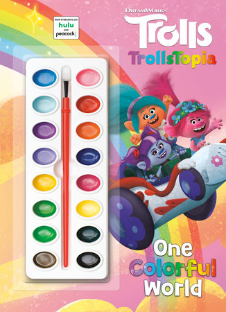 One Colorful World (DreamWorks Trolls) by Golden Books